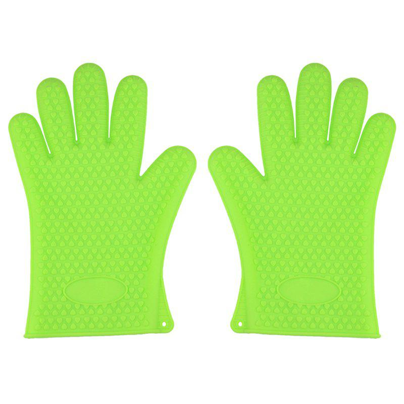 Hot Skid Prevention Opaque Silicone Waterproof Microwave Oven Gloves 24 5cm diameter y shape underside media galanz panasonic microwave oven turntable genuine original parts