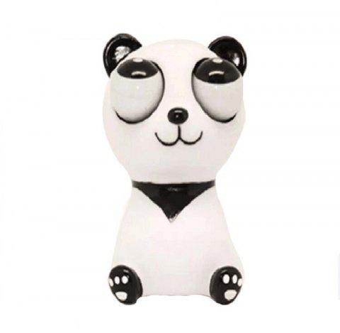 Jumbo Squishy Cartoon Doll Eye Relief Vent Toys - multicolor A