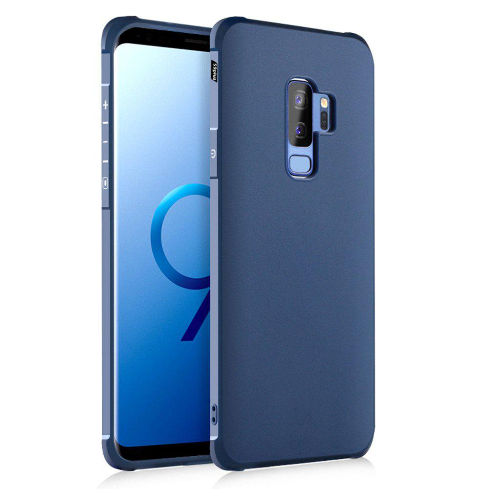 Solid Color Tpu Mobile Phone Case for Samsung Galaxy S9 Plus - ROYAL BLUE
