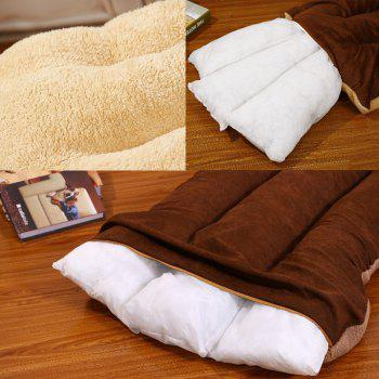 Removable and Washable Pet Bed Cushion Mat Sleeping Sofa - BROWN BEAR SIZE L