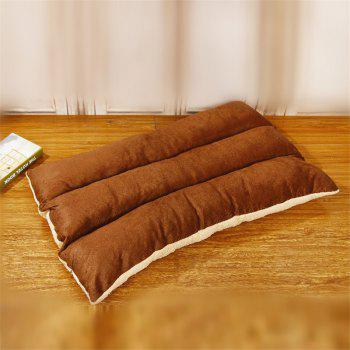Removable and Washable Pet Bed Cushion Mat Sleeping Sofa - BROWN BEAR SIZE M