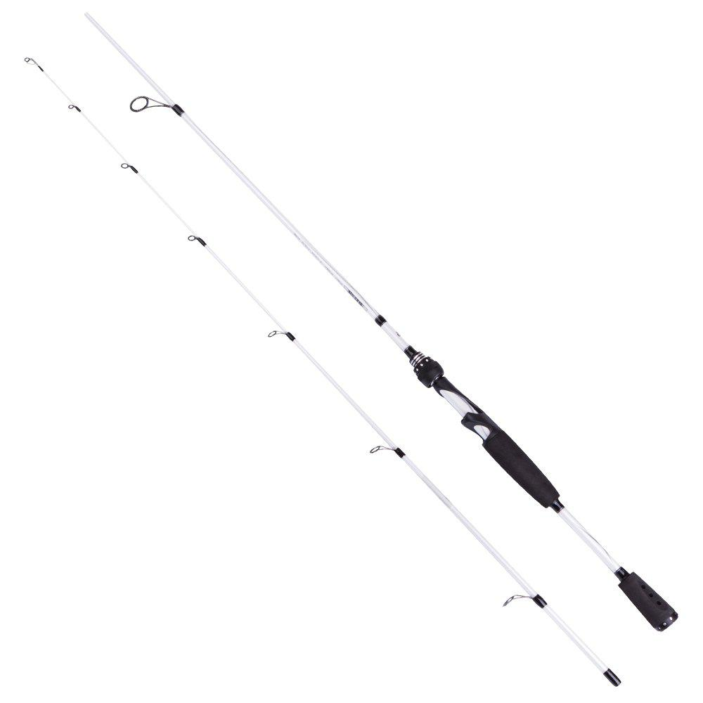 Abu Garcia Veritas 2.0 198cm Spinning and Casting Fishing Rod - WHITE VRTS662-5