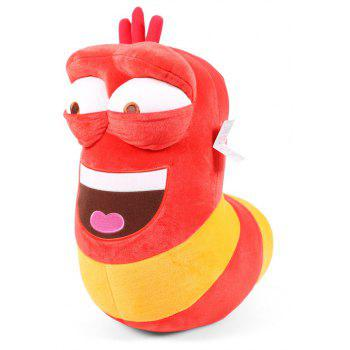 Cute Carton Funny Insect Plush Doll - RED