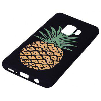 Case for Samsung Galaxy S9 Yellow Pineapple  Soft TPU Mobile Phone Protector - YELLOW