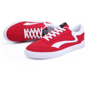 Spring New Men's Casual Shoes - RED 42
