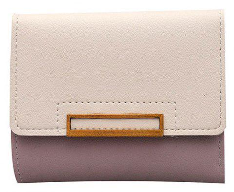 Small Wallet Female Short Soft Card Package Seventy Percent Off Students - TULIP PINK