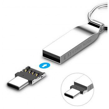 Type-C to USB 2.0 OTG Cable Converter Adapter - SILVER