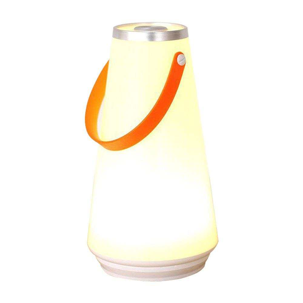 USB Outdoor Charging Multifunctional Portable Night Light - WARM WHITE