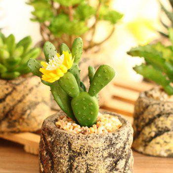 Miniature Simulation Of Plant Potted Plants - SPRING GREEN