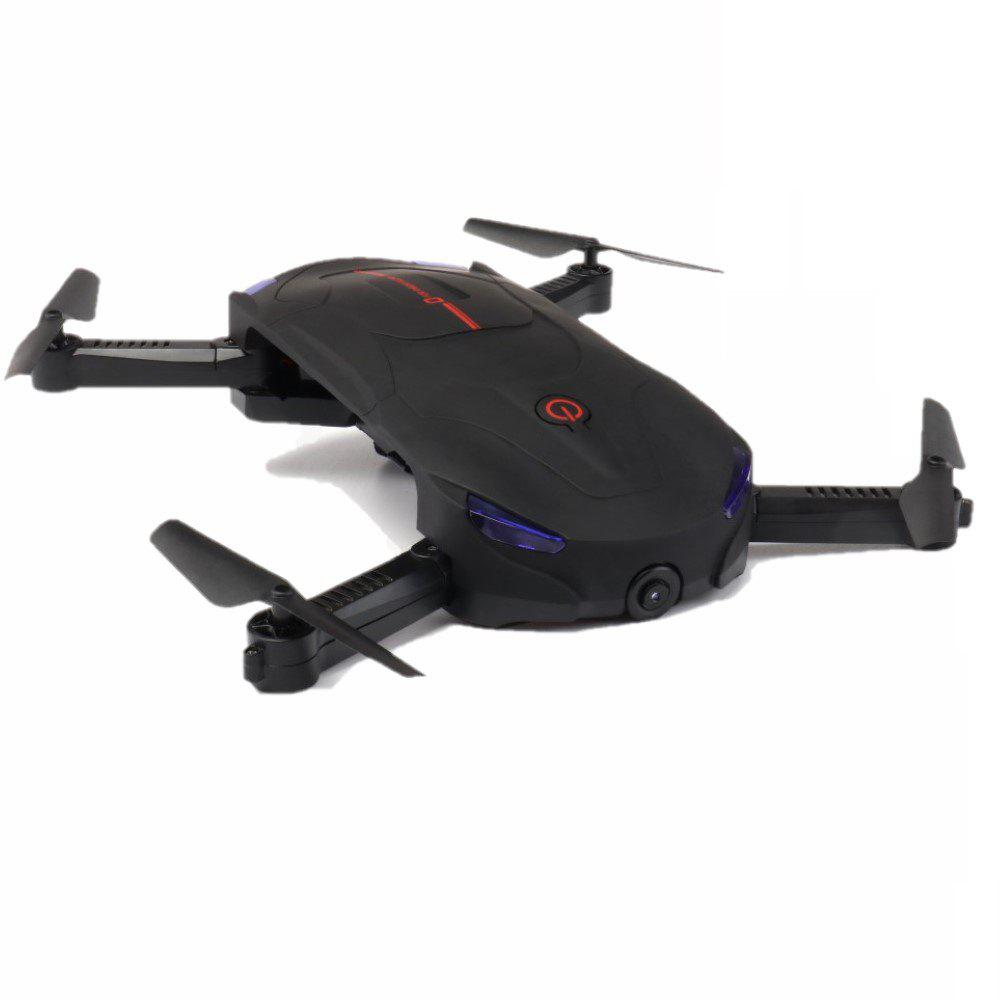 Parrokmon Sefie Foldable Drone with Optical Flow Position and WiFi Camera - BLACK