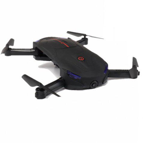 Parrokmon Sefie Foldable Drone with Optical Flow Position and 2.0MP WiFi Camera - BLACK