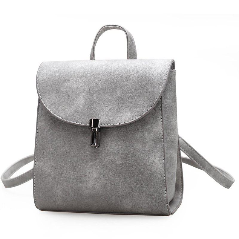 Women Small Backpack Ladies High Quality PU Leather School Bags for Teenager hot selling women s backpack genuine leather backpack women casual street sweet gentlewomen backpacks school student bags