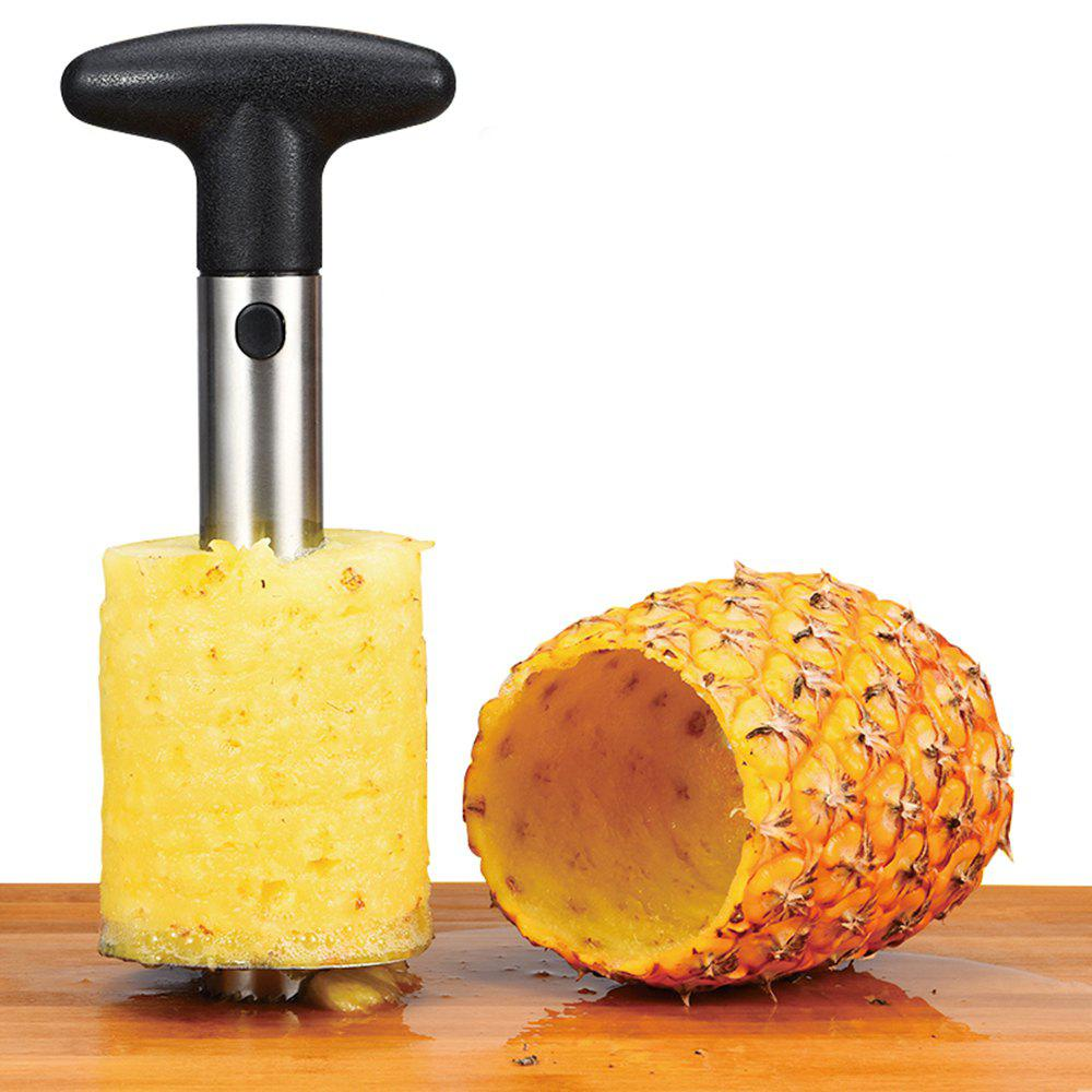 Stainless Steel Fruit Pineapple Cutter Spiral Corer Slicer Peeler Shredder multi functional portable slicer peeler shredder white