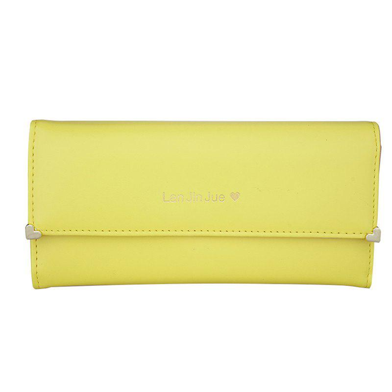 Women's Clutch Bag Three Packs Handbags - CORN YELLOW