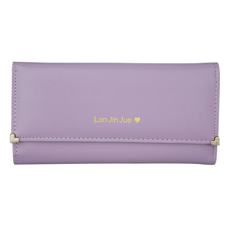 Women's Clutch Bag Three Packs Handbags - WISTERIA PURPLE