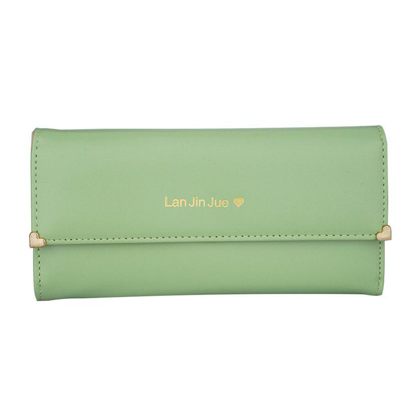 Women's Clutch Bag Three Packs Handbags - FROG GREEN