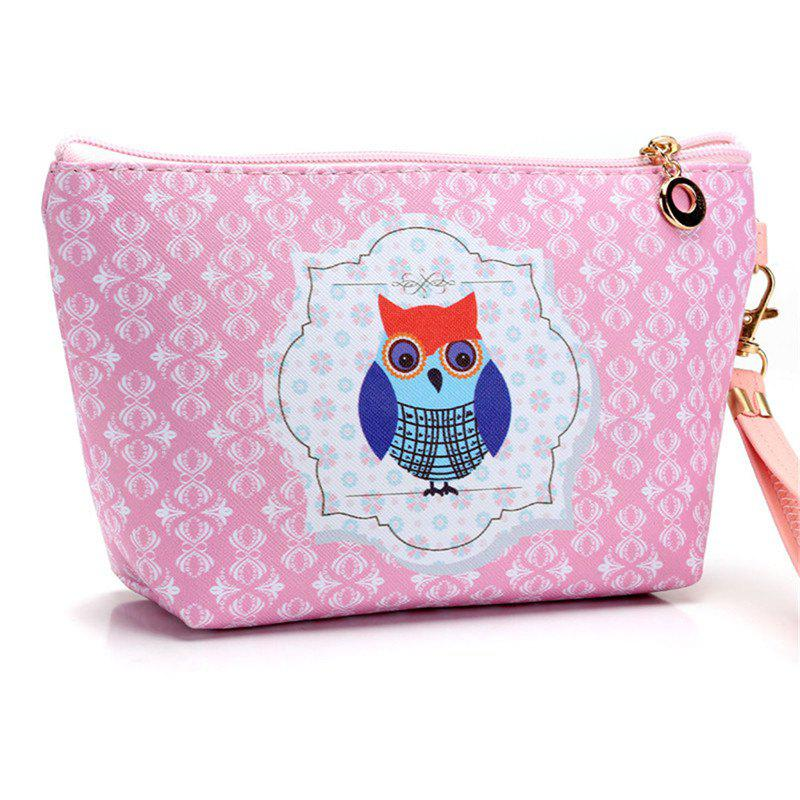 Cat Fangs Hand Sail Shipping Cosmetics Receipt Bag - multicolor C