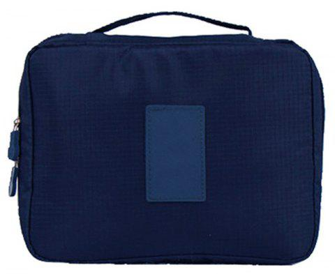 Large-capacity Travel Carrying Cosmetic Wash Bag - NAVY BLUE
