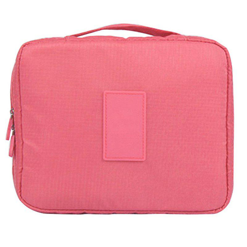 Large-capacity Travel Carrying Cosmetic Wash Bag - LIGHT PINK