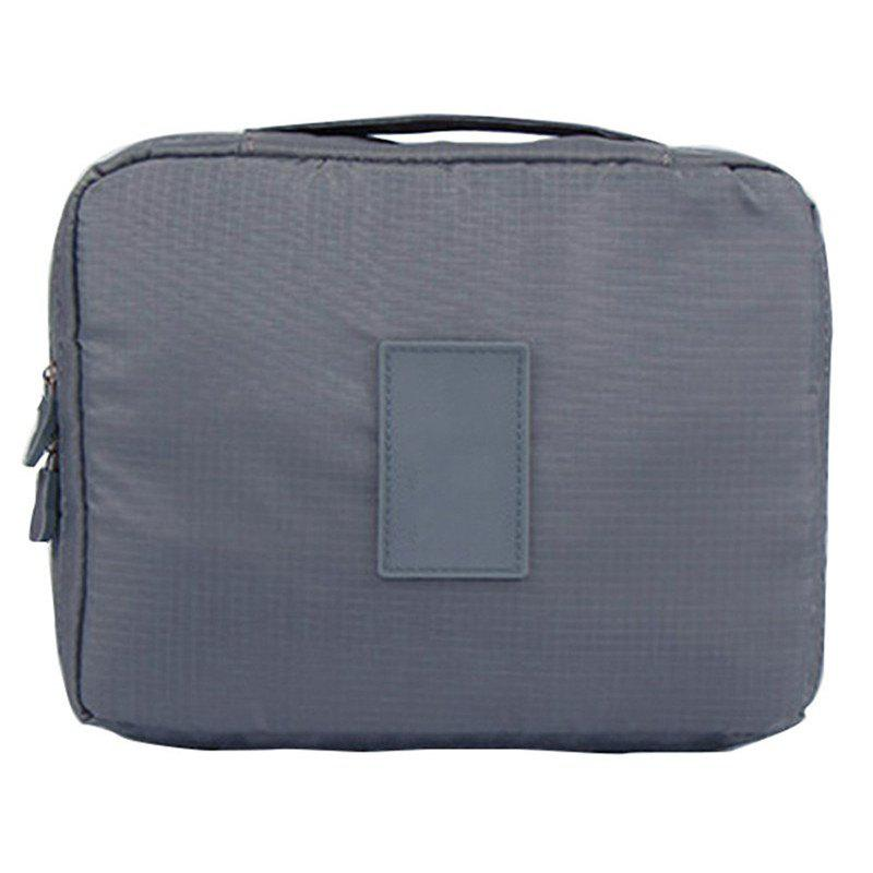 Large-capacity Travel Carrying Cosmetic Wash Bag - GRAY CLOUD