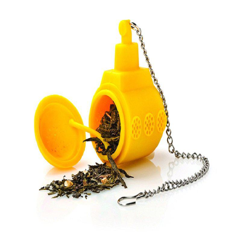 The Submarine Modelling Tea Strainer - YELLOW