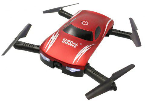 Mini Pocket Folding RC Drone RTF with Waypoints / Voice Control / One Key Mode - RED