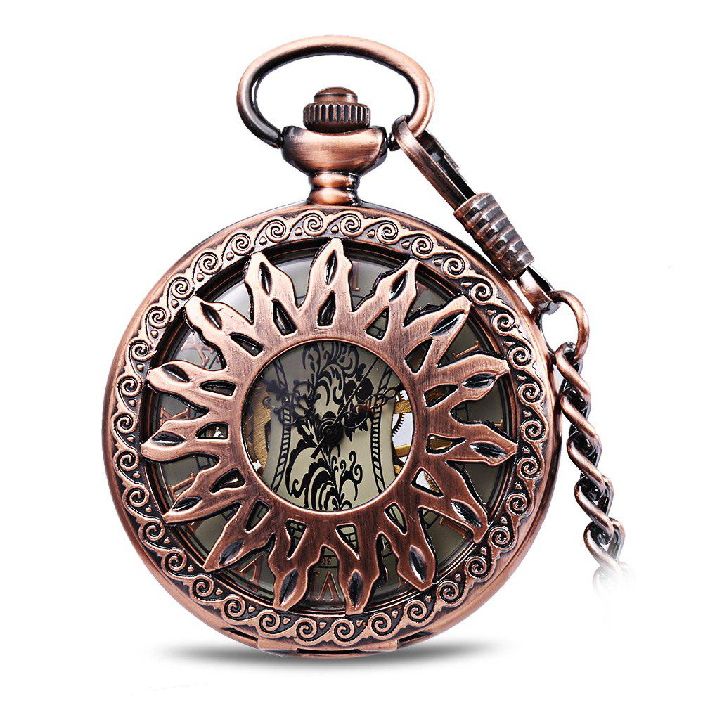 Lucky Family JX003 Creative Fashion Mechanical Pocket Watch - SEDONA