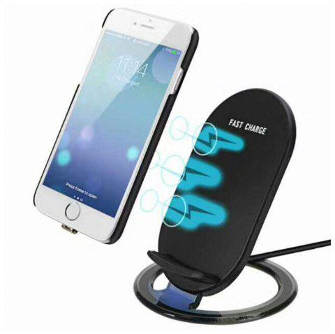 Wireless Charger for Samsung Galaxy S8/S7 Edge /Note 8 /iPhone X/ 8 /8 Plus - BLACK