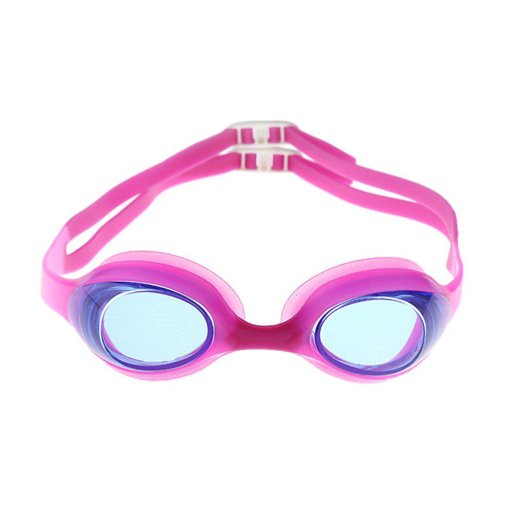 Children Waterproof Antifogging Swimming Glasses - PINK