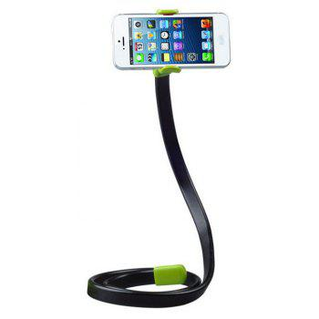 Lazy Mobile Phone Clip Flexible Phone Bracket 360 Rotating Bed Desk Table Clip - GREEN