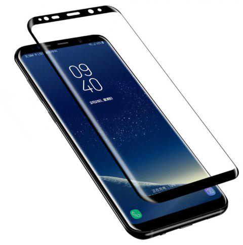 3D Full Cover Tempered Glass for Samsung Galaxy S9 HD Screen Protector Film - BLACK