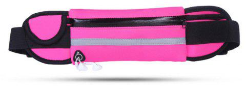 Outdoor Sports Fitness Riding Travel Waterproof Mobile Phone Pockets - PINK