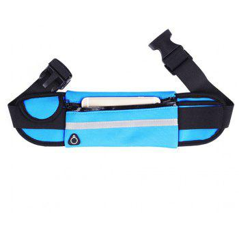 Outdoor Sports Fitness Riding Travel Waterproof Mobile Phone Pockets - BLUE