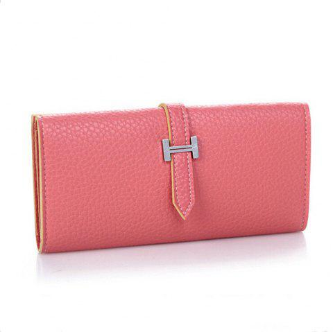Women Fashion Korean Handbag Solid Color Mini Draw Purse - VALENTINE RED