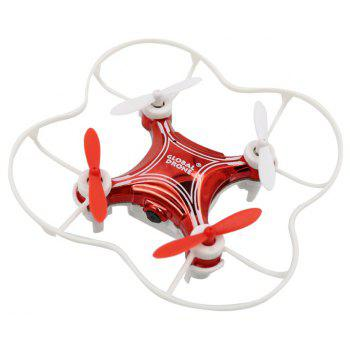 2.4G Mini RC Drone RTF with 6-axis Gyroscope / Altitude Hold / Video Recoding - RED