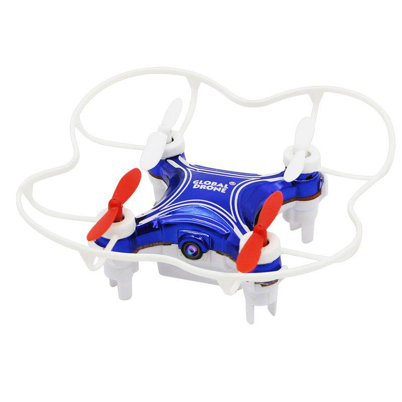 2.4G Mini RC Drone RTF with 6-axis Gyroscope / Altitude Hold / Video Recording - SAPPHIRE BLUE