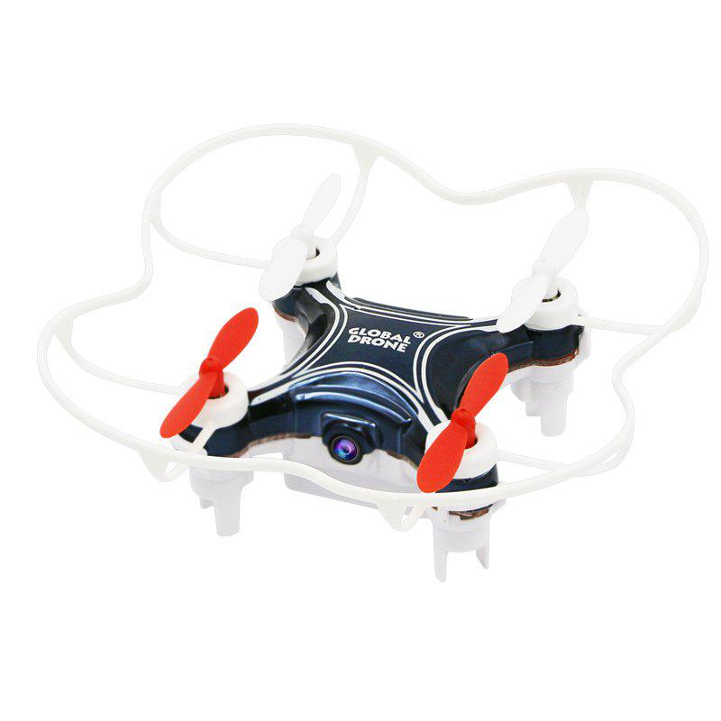2.4G Mini RC Drone RTF with 6-axis Gyroscope / Altitude Hold / Video Recoding - BLACK