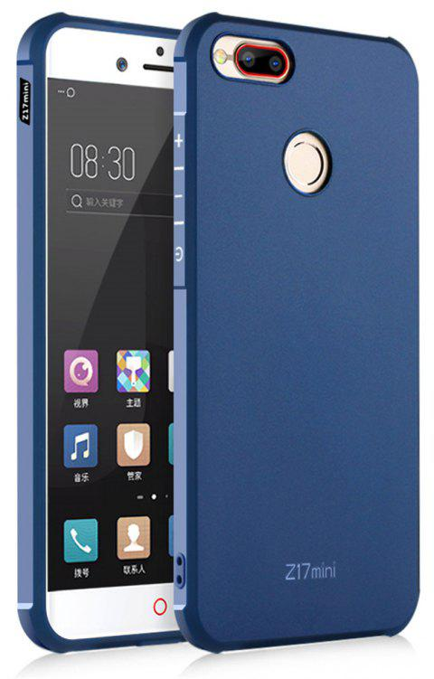 Shockproof Soft Silicone Case for Nubia Z17 Mini Cover Case Fashion Full Protective Phone Case - BLUE