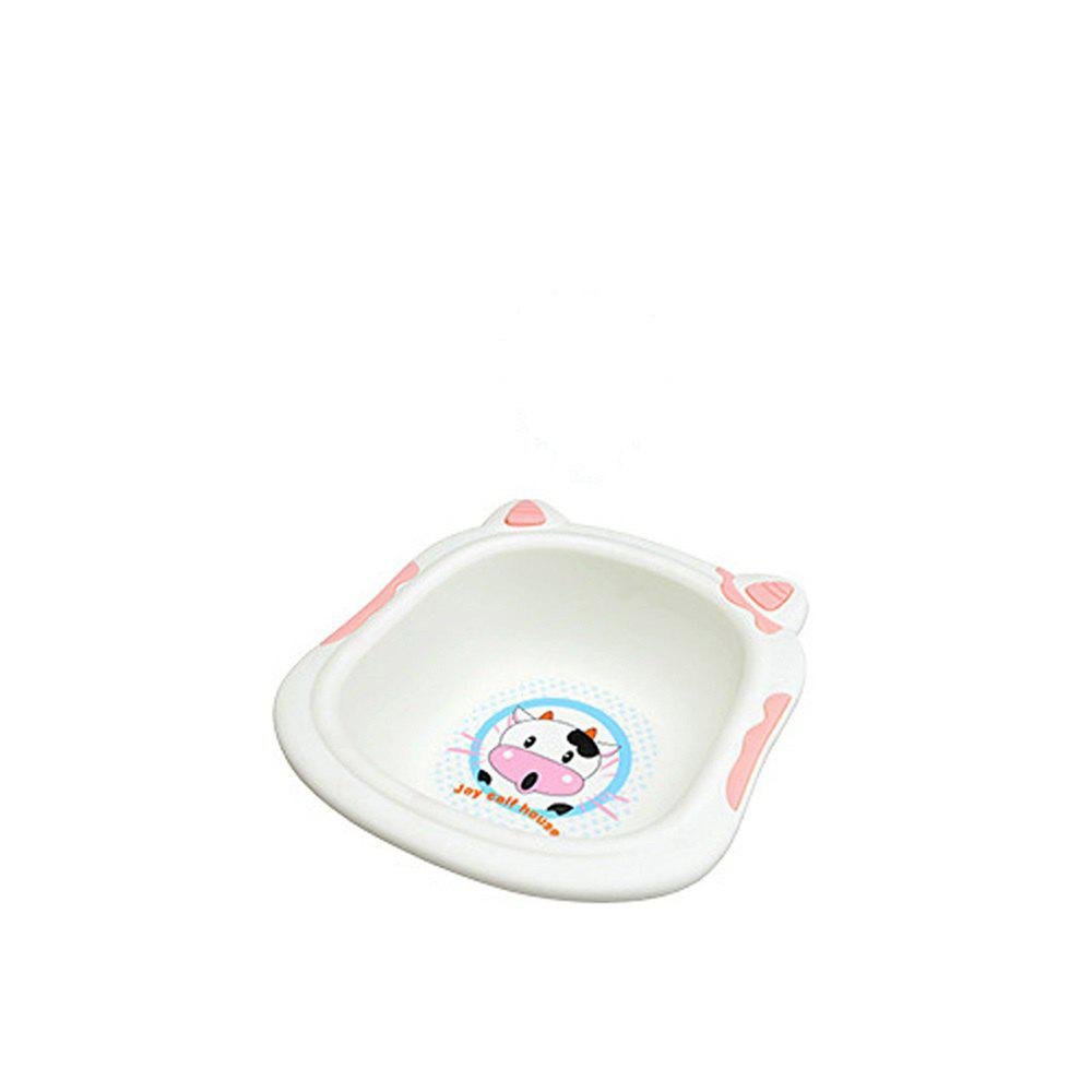 310-03 Children'S Cute Cow Washbasin 3 Colors - PINK SIZE S