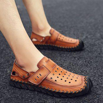 Fashion Men Beach Casual Slippers Flip Flops Summer Shoes Sport Sneakers - RED DIRT 43