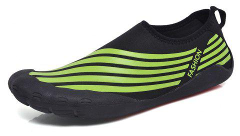 Lightweight Swimming Breathable Shoes Men Beach Shoes Comfort FlatsSneakers - PINE GREEN 39