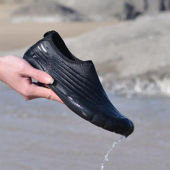 Lightweight Swimming Breathable Shoes Men Beach Shoes Comfort FlatsSneakers - BLACK 41