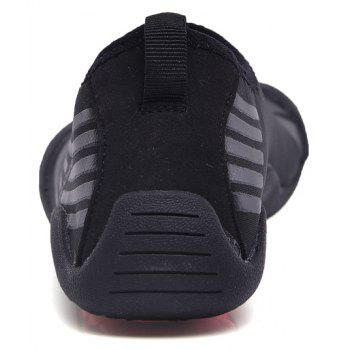 Lightweight Swimming Breathable Shoes Men Beach Shoes Comfort FlatsSneakers - BLACK 46