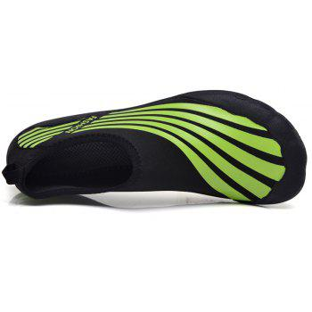 Lightweight Swimming Breathable Shoes Men Beach Shoes Comfort FlatsSneakers - PINE GREEN 40