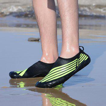 Lightweight Swimming Breathable Shoes Men Beach Shoes Comfort FlatsSneakers - PINE GREEN 45
