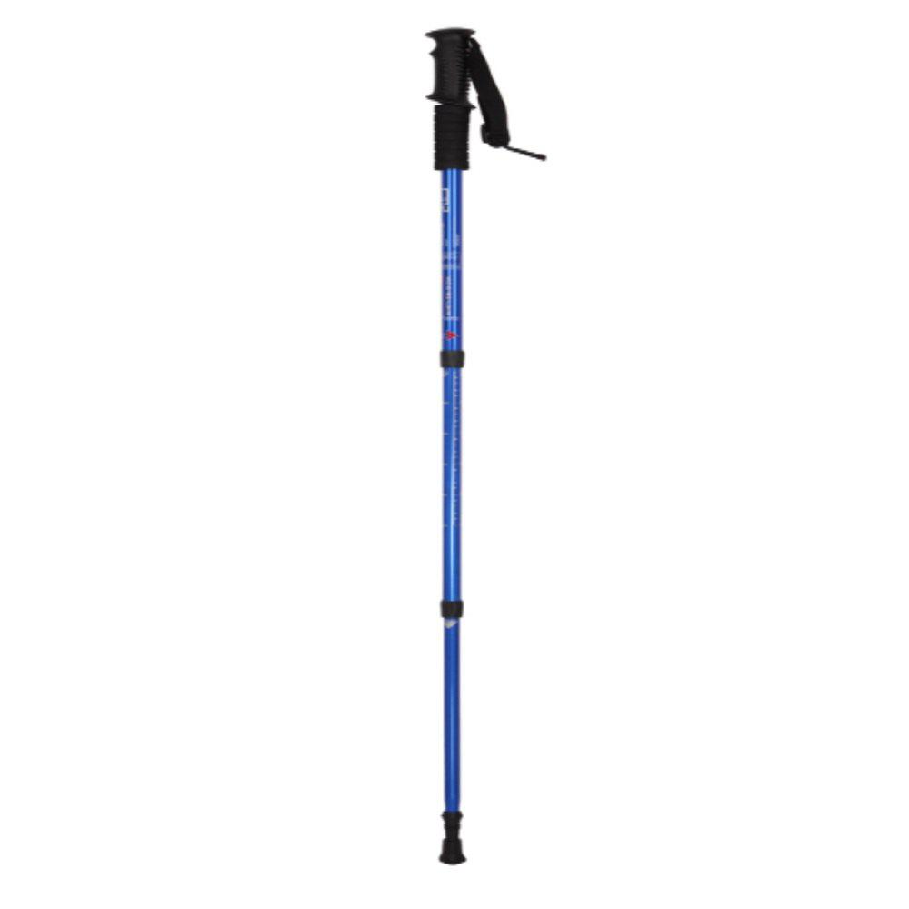 Hiking Outdoor Folding Super Light Climbing Trekking Poles - BLUE