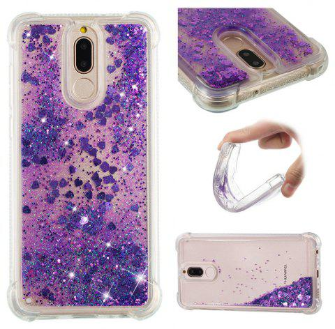 Cover Case for Huawei Mate10Lite/Head 6/Nova 2i Dynamic Quicksand Soft TPU Back - multicolor A