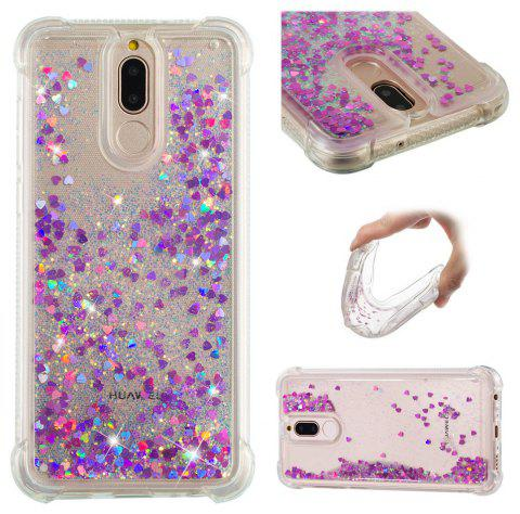 Cover Case for Huawei Mate10Lite/Head 6/Nova 2i Dynamic Quicksand Soft TPU Back - multicolor D