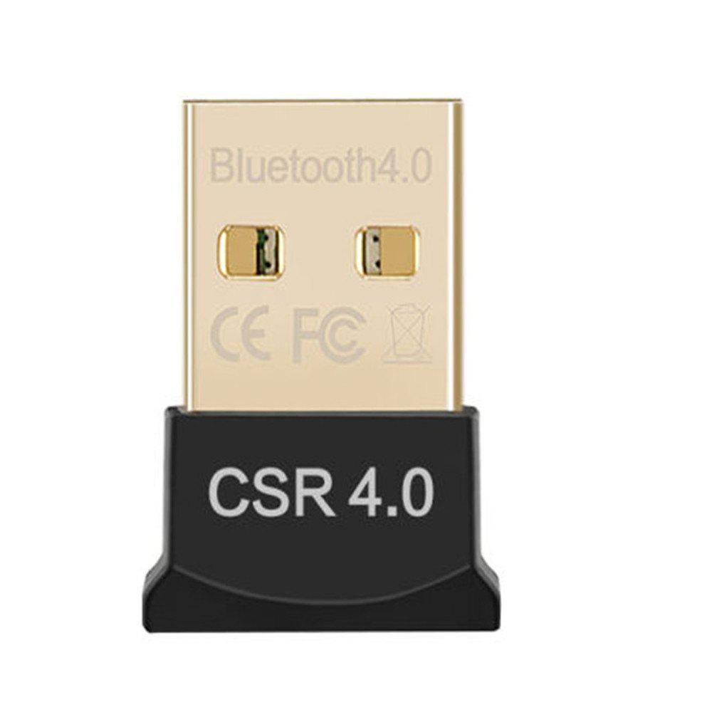 Bluetooth USB Adapter  4.0  Wireless Adapter for Laptop PC Support Mouse Keyboar - BLACK
