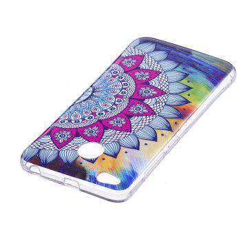 Luminous Soft Case for Xiaomi Redmi 4X Sunflower Pattern - multicolor